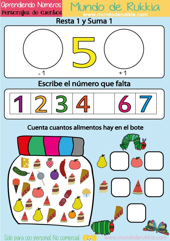 Cuaderno de Actividades para Aprender los Números