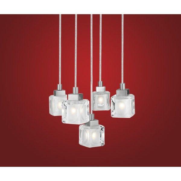 Glass Pendant Lighting Eglo Cube Light Fitting