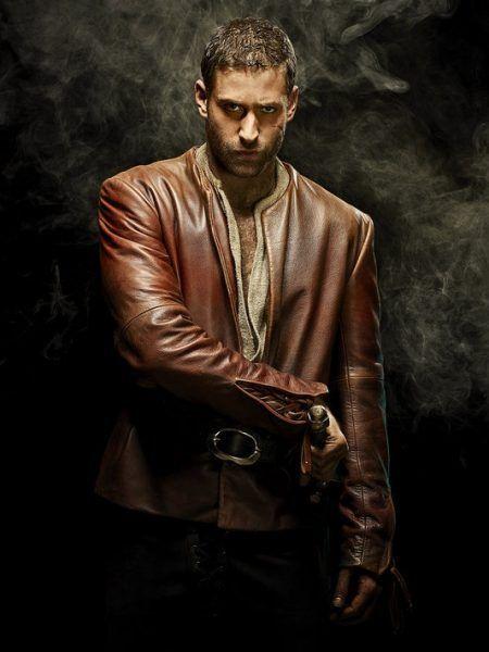 Emerald City Lucas Jacket | Oliver jackson cohen, Leather jacket with hood,  Leather jacket