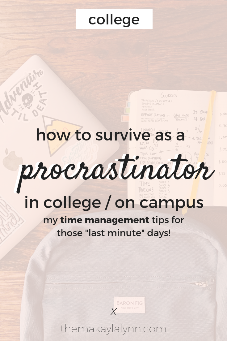 how to survive in college life