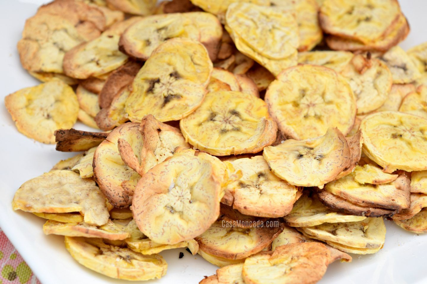 Easy Air Fryer Plantain Chips Plantain chips, Food