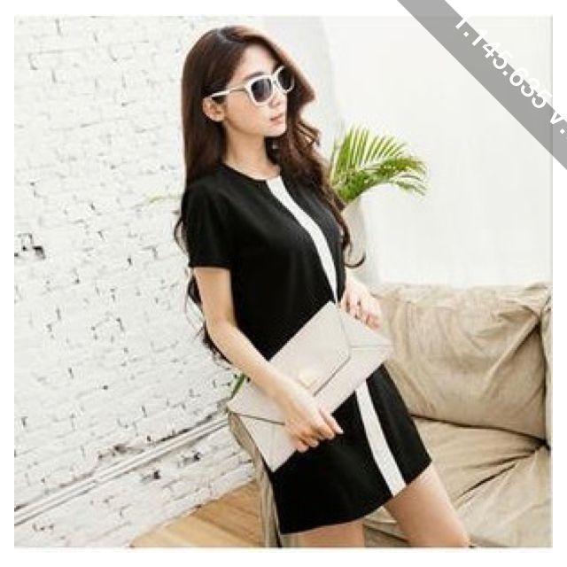 Short-Sleeve Chiffon A-Line Dress