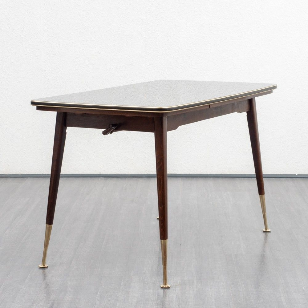 1950s Height Adjustable Dining Table Coffee Table Coffee Table