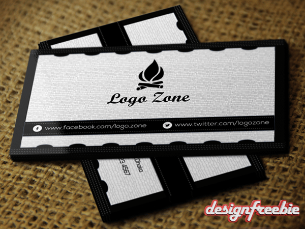 Super Elegant Black White Free Business Card Templates Psd Back - Free business cards templates photoshop