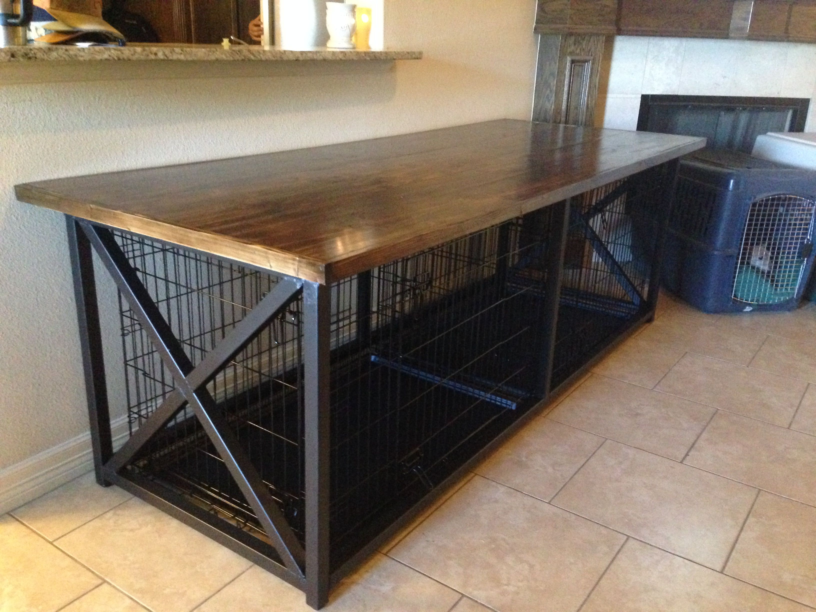 Best 25 Dog crate end table ideas on Pinterest