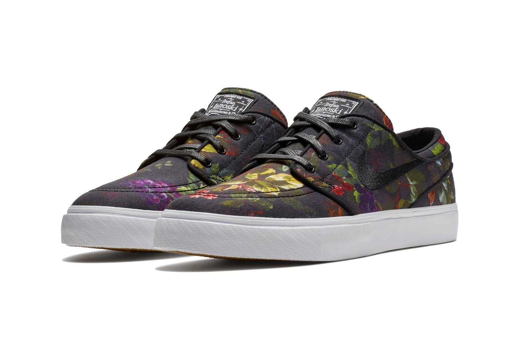Nike SB Zoom Stefan Janoski Floral Canvas Release Date sneaker price  skateboarding 4ab50ef08