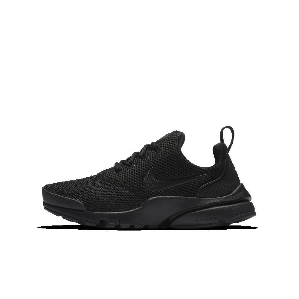 the best attitude e00f2 f7b91 Nike Presto Fly Big Kids  Shoe Size 7Y (Black)