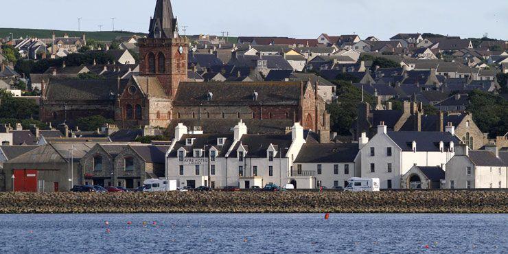 Kirkwall in Orkney Islands, Orkney Islands