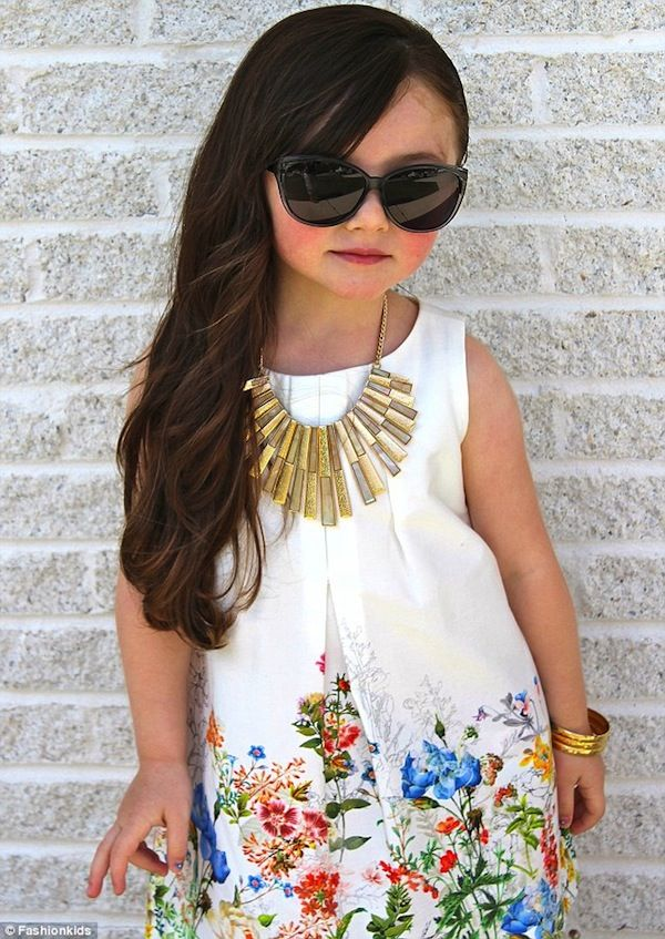 An Instagram Account That Showcases Fashionable And Stylish Kids -  DesignTAXI.com
