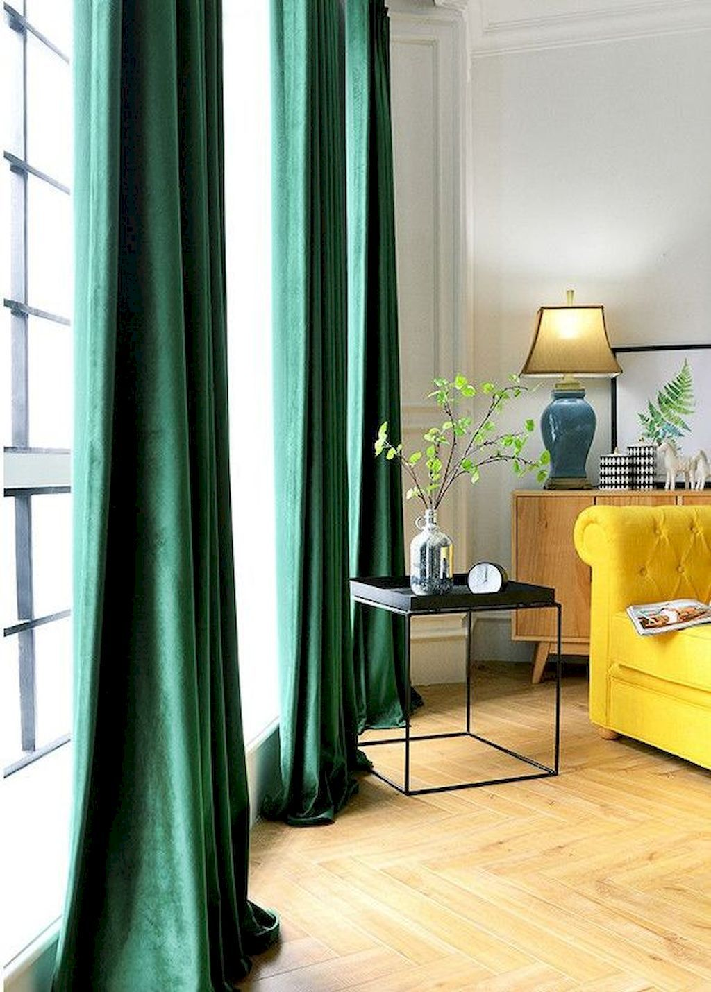 What Kind Of Curtains Ought To I Select Green Curtains Living Room Emerald Green Living Room Curtains Living Room Modern