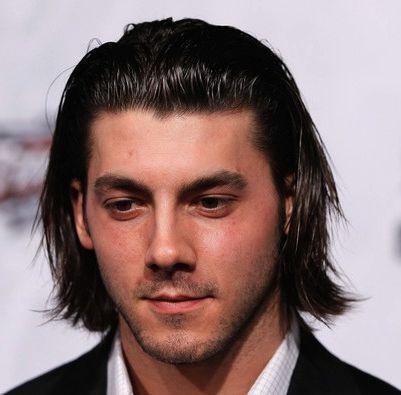 Men Slick Back Long Hair Medium Long Hairstyles For Men Slicked Back