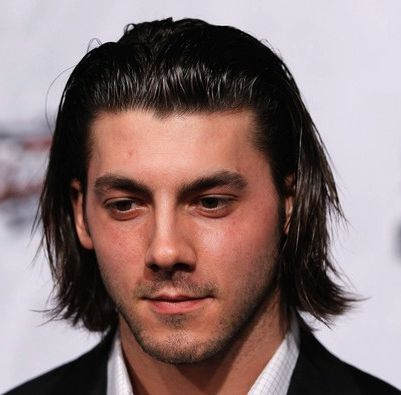 Men Slick Back Long Hair Medium Long Hairstyles For Men
