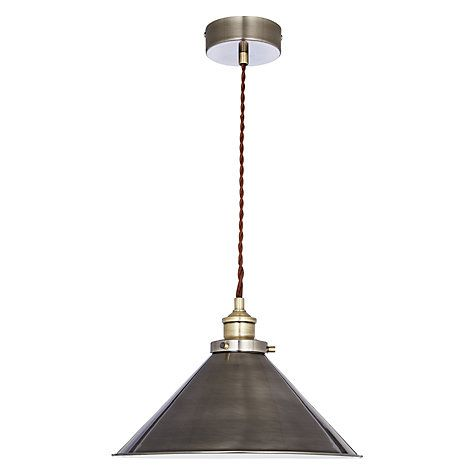 John Lewis Tobias Resto Pendant Ceiling Light Tobias John Lewis - Kitchen pendant lighting john lewis