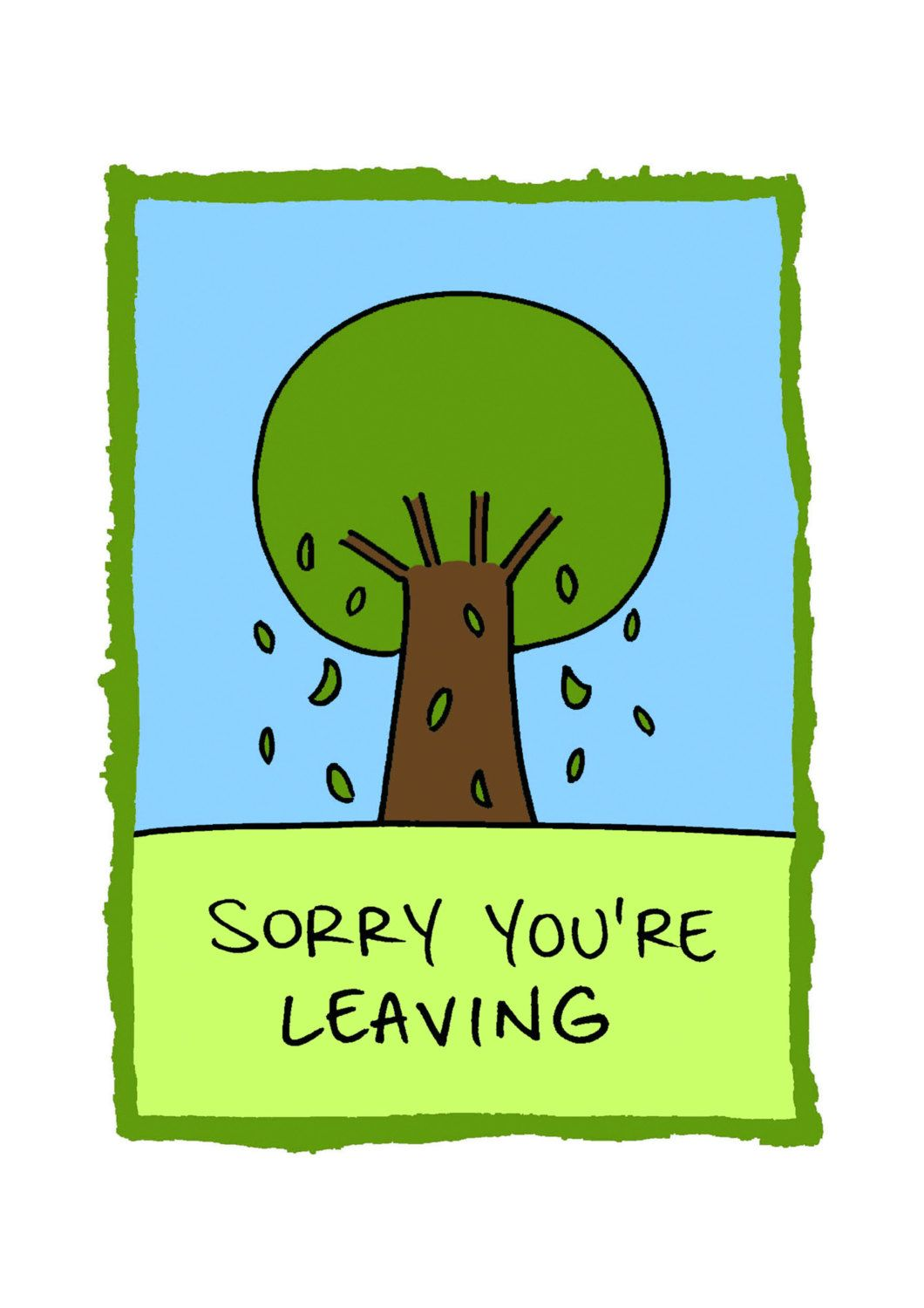 28 Sorry You Re Leaving Card Template Sorry You Re Within Sorry You Re Leaving Card Template Busin Card Template Leaving Cards Visiting Card Templates