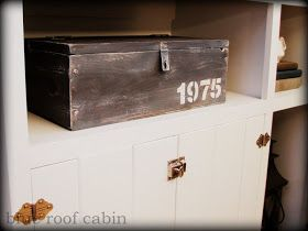 """blue roof cabin: How To Build an """"Antique"""" Wood Box"""