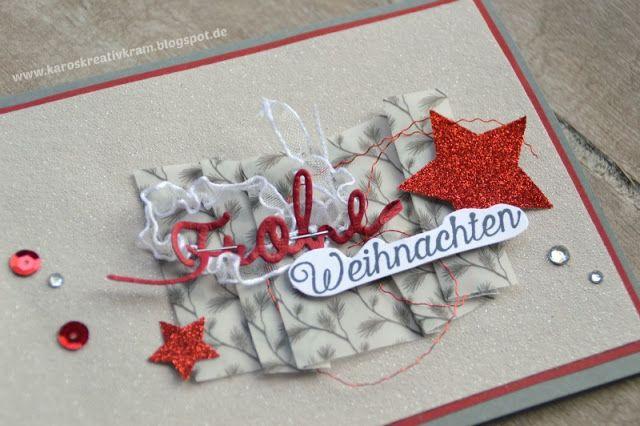 Weihnachten in Rot & Silber