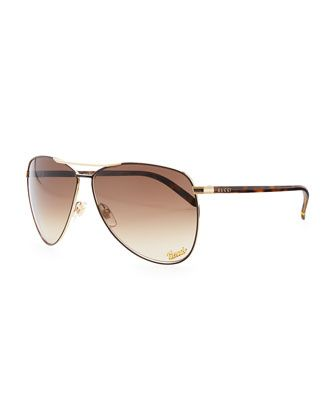 e6c379e9b7 Aviator Sunglasses by Gucci at Bergdorf Goodman.
