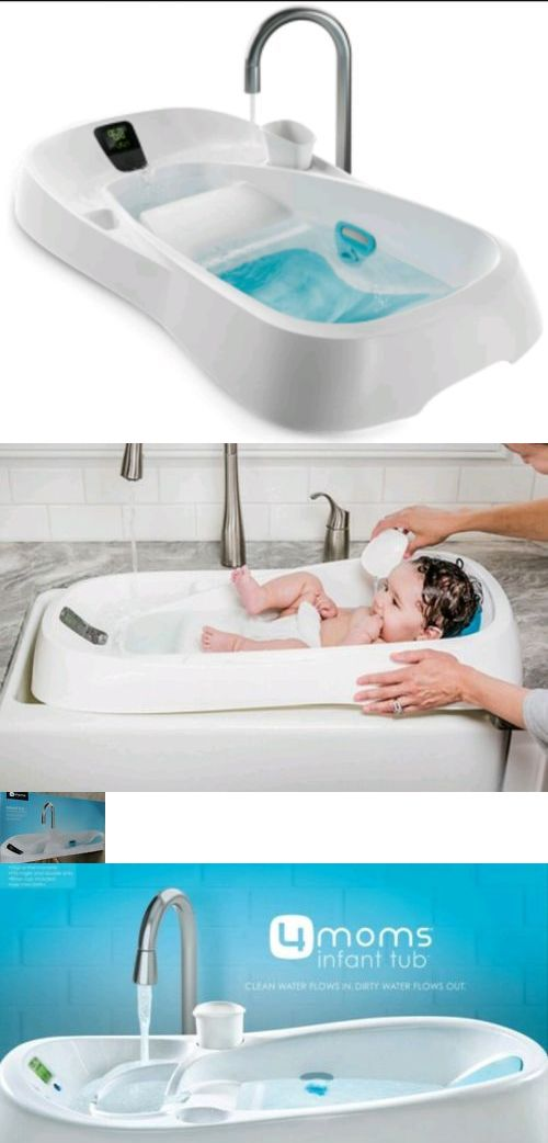 4moms Infant Tub Digital Thermometer Controlled Water Temperature ...