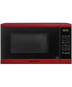 Morphy Richards Em820cptf Pm 20l Solo Microwave Red