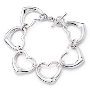 Tiffany and co Bracelets Elsa Peretti Contuous Open Heart