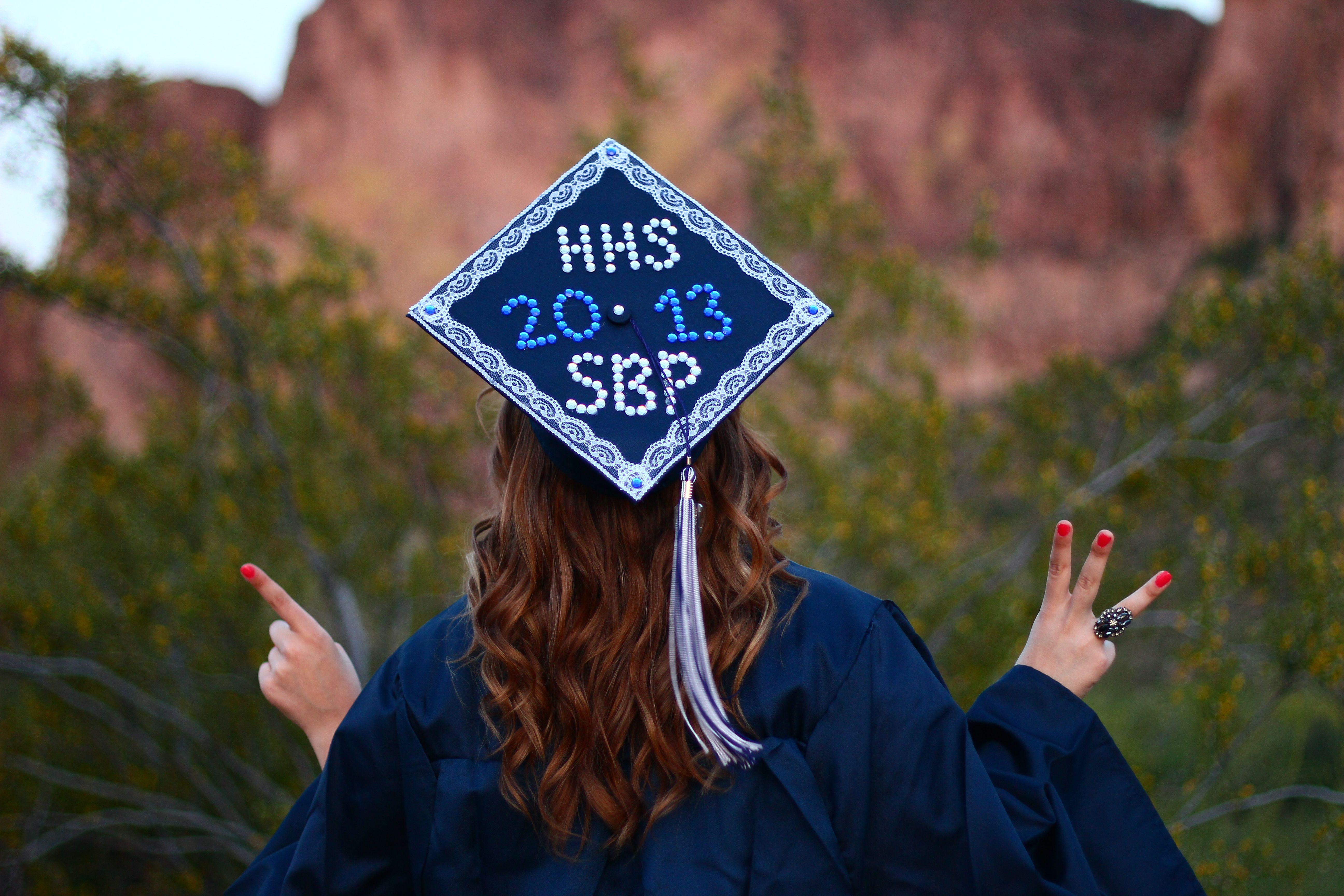 Cap And Gown Decoration - High School Mediator