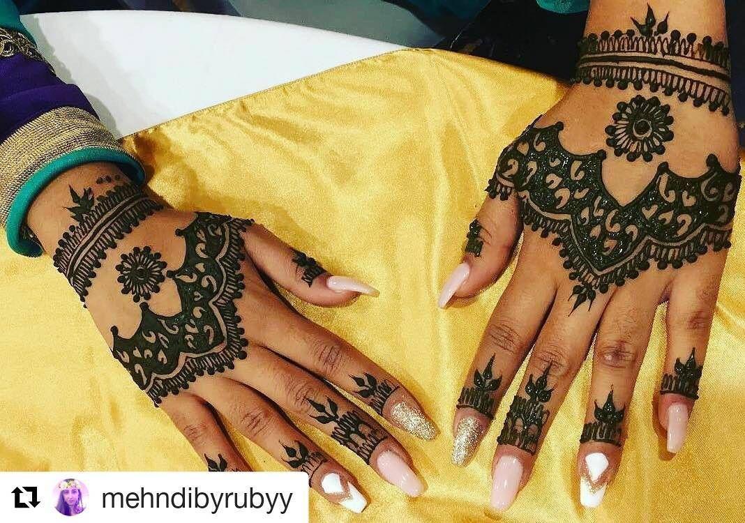 Followhennafamily hennafamily repost mehndibyrubyy henna for