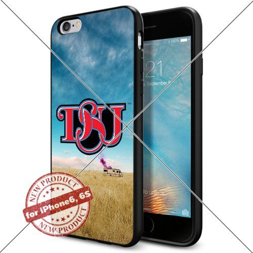 WADE CASE Delaware State Hornets Logo NCAA Cool Apple iPhone6 6S Case #1101 Black Smartphone Case Cover Collector TPU Rubber [Breaking Bad] WADE CASE http://www.amazon.com/dp/B017J7L7NA/ref=cm_sw_r_pi_dp_.Jvxwb06GX6TQ