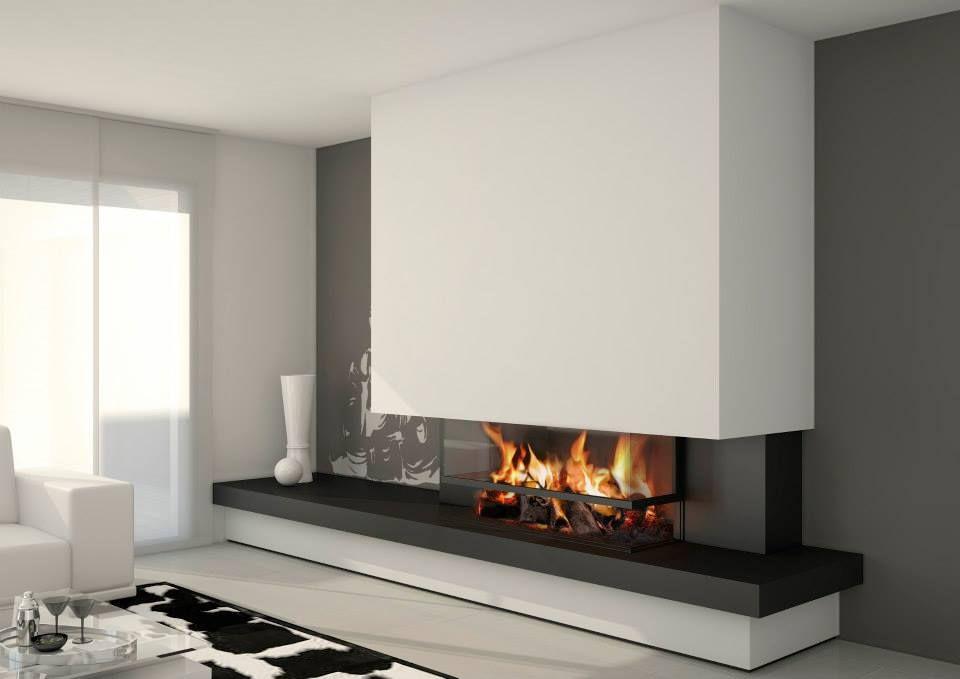 chimenea #bioetanol #leña #diseño #moderno #elegante #tms #reformas