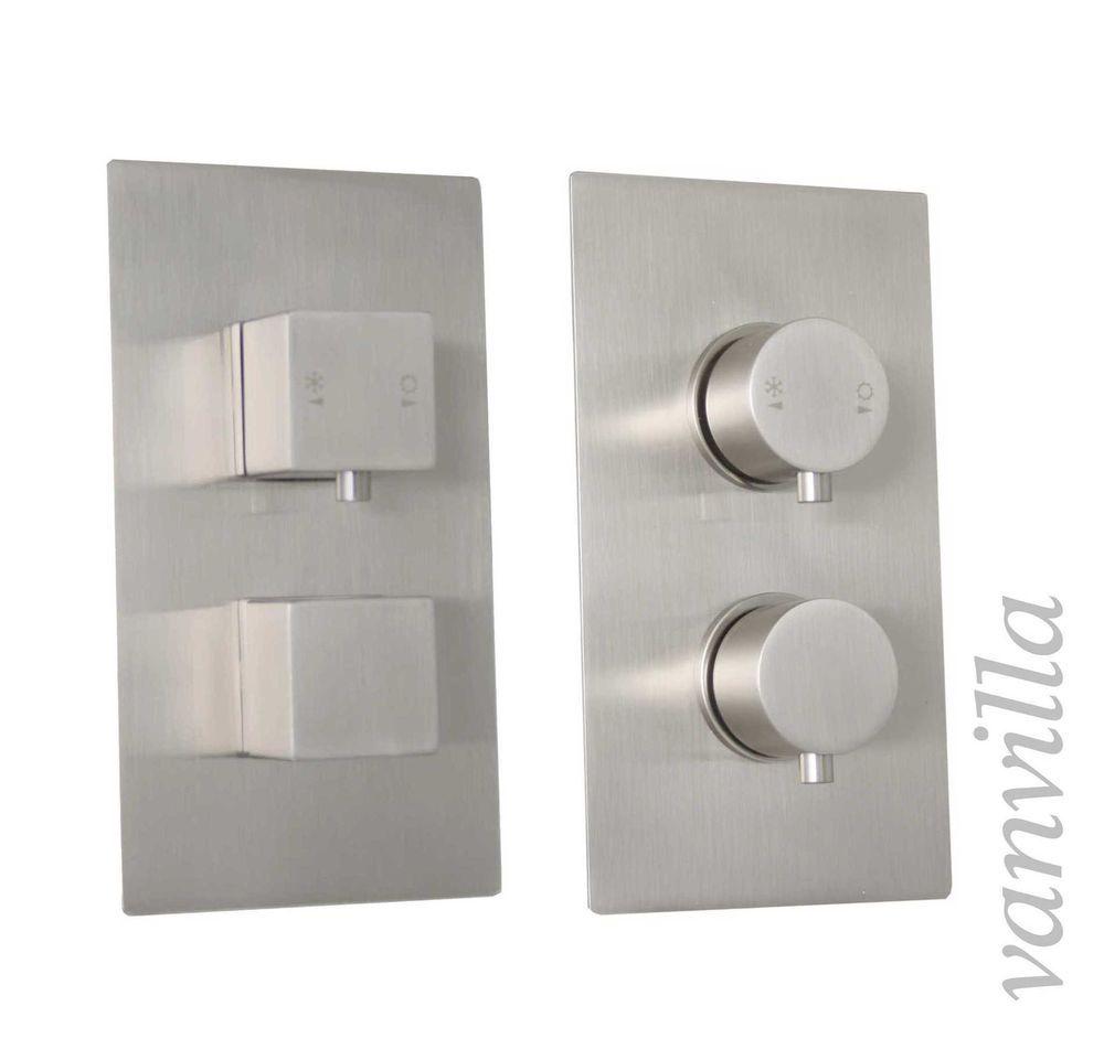 vanvilla Design Thermostat Unterputz Armatur Duscharmatur