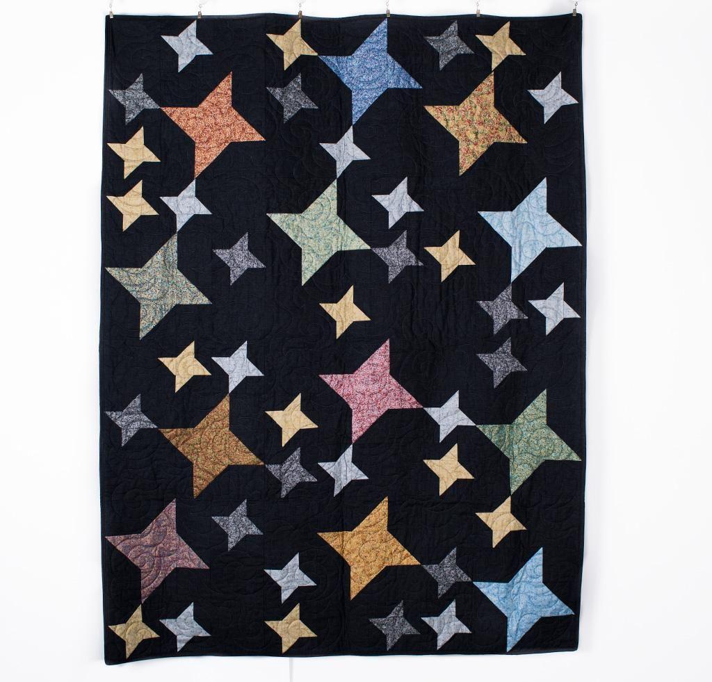 Sparkler Quilt Kit By Rk Studio Featuring Robert Kaufman