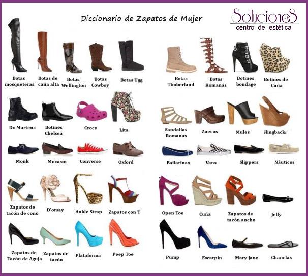Nuevas tendencias en calzado   Tipos de zapatos mujer