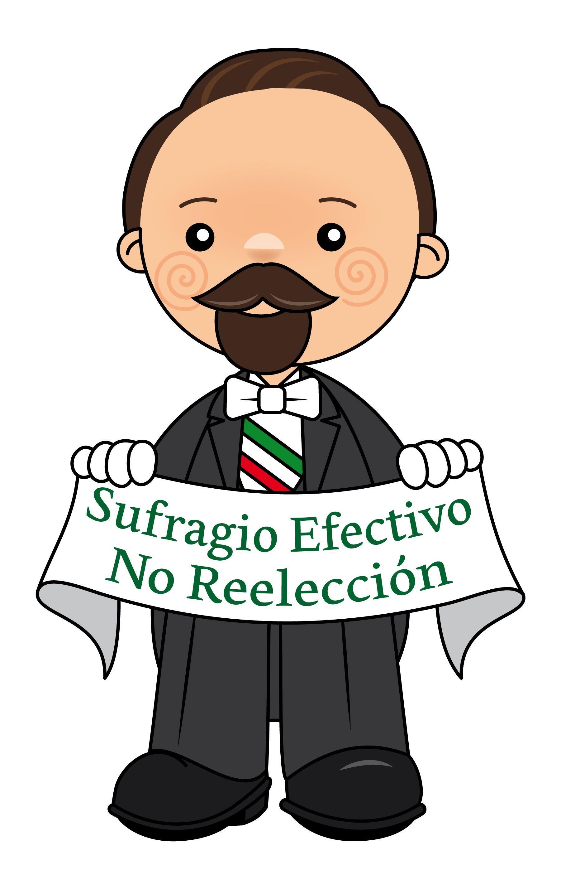 Francisco I Madero Revolucion Mexicana Para Ninos Revolucion Mexicana Dibujos Personajes De Dibujos Animados Clasicos