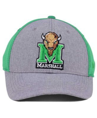 sneakers for cheap e44ec 77c56 Top of the World Marshall Thundering Herd Faboo Stretch Cap - Gray M L