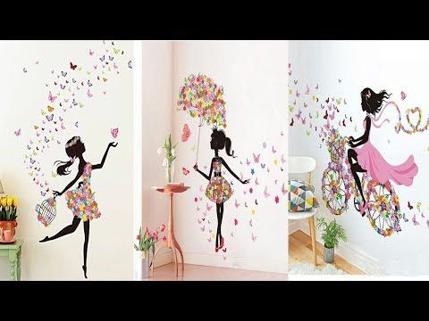 Diy Room Decor 26 Easy Crafts Ideas At Home For Teenagers Youtube Wall Stickers Home Decor Arts And Crafts For Teens Easy Paper Crafts