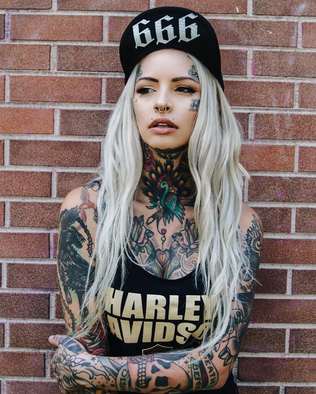 Tattooed girl carolina hot n fit pinterest tattoo girls and tatoo