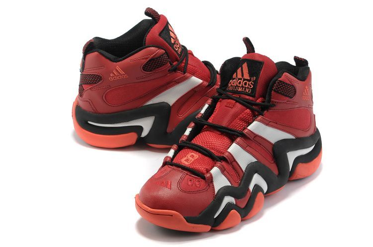 save off 23cfa 08cab Online shop Adidas Crazy 8 Bull red black white sneakers
