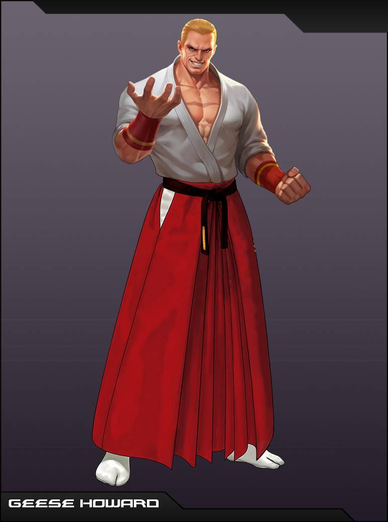 Geese Howard By Emmakof On Deviantart King Of Fighters Capcom Vs Snk Fighter