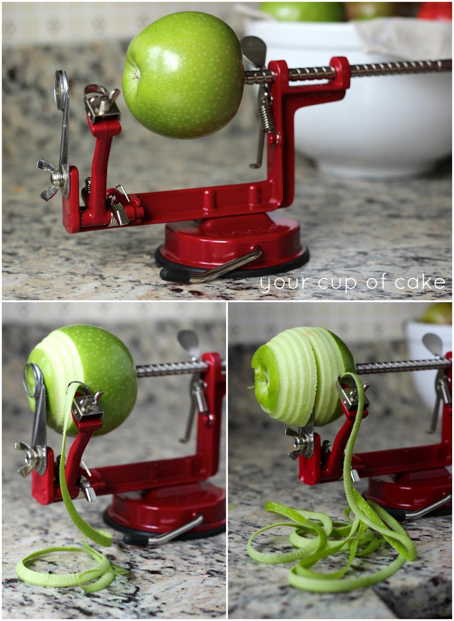 Apple peeler and corer caramel apples pie peeling potatoes