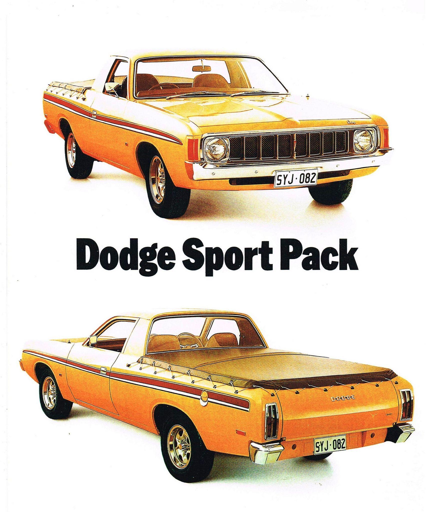 VK Dodge Sportspack | Ute, Mopar and Cars