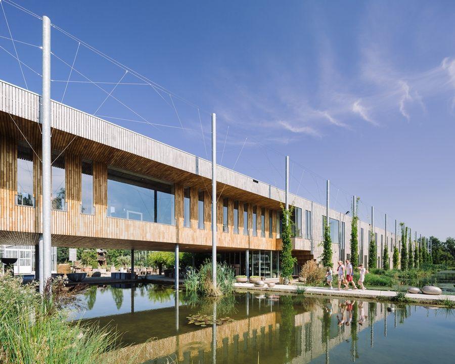 Oogenlust domain, Eersel, Holanda - architecten|en|en - © BASE Photography