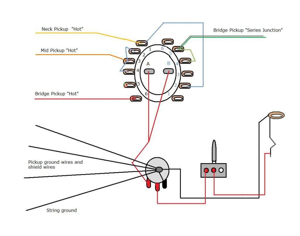 4 Position Rotary Switch Wiring Diagram Unique In 2020 Positivity Diagram Wire