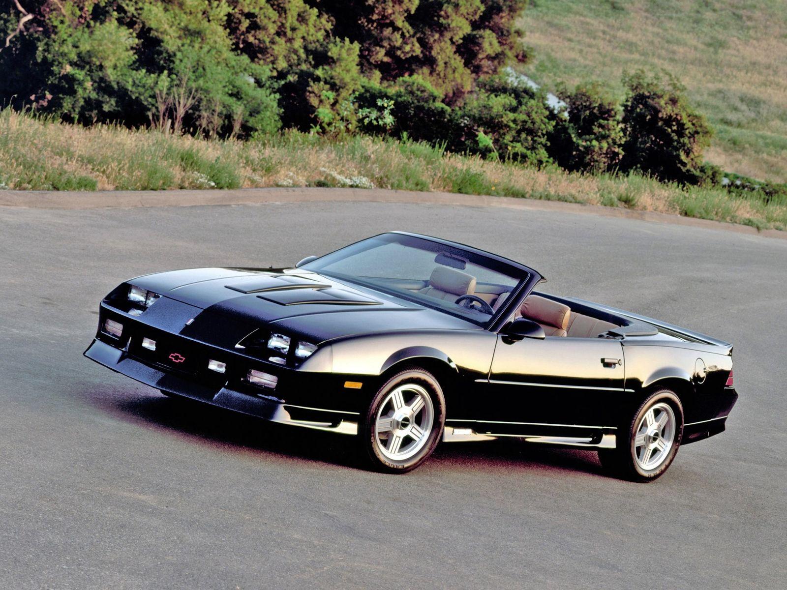 Chevrolet Camaro Z28 Convertible 1991 Cool Camaros