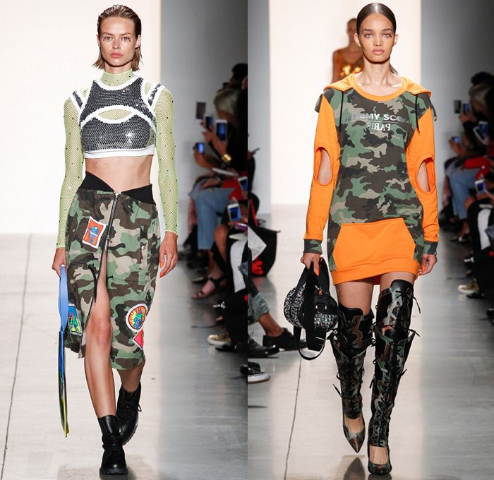 0f9885c6c65a Jeremy Scott 2018 Spring Summer Womens Runway Catwalk Looks - New York  Fashion Week NYFW -