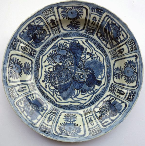 Ming blue and white porcelain kraak Antique plate & Ming blue and white porcelain kraak antique plate (China) More At ...