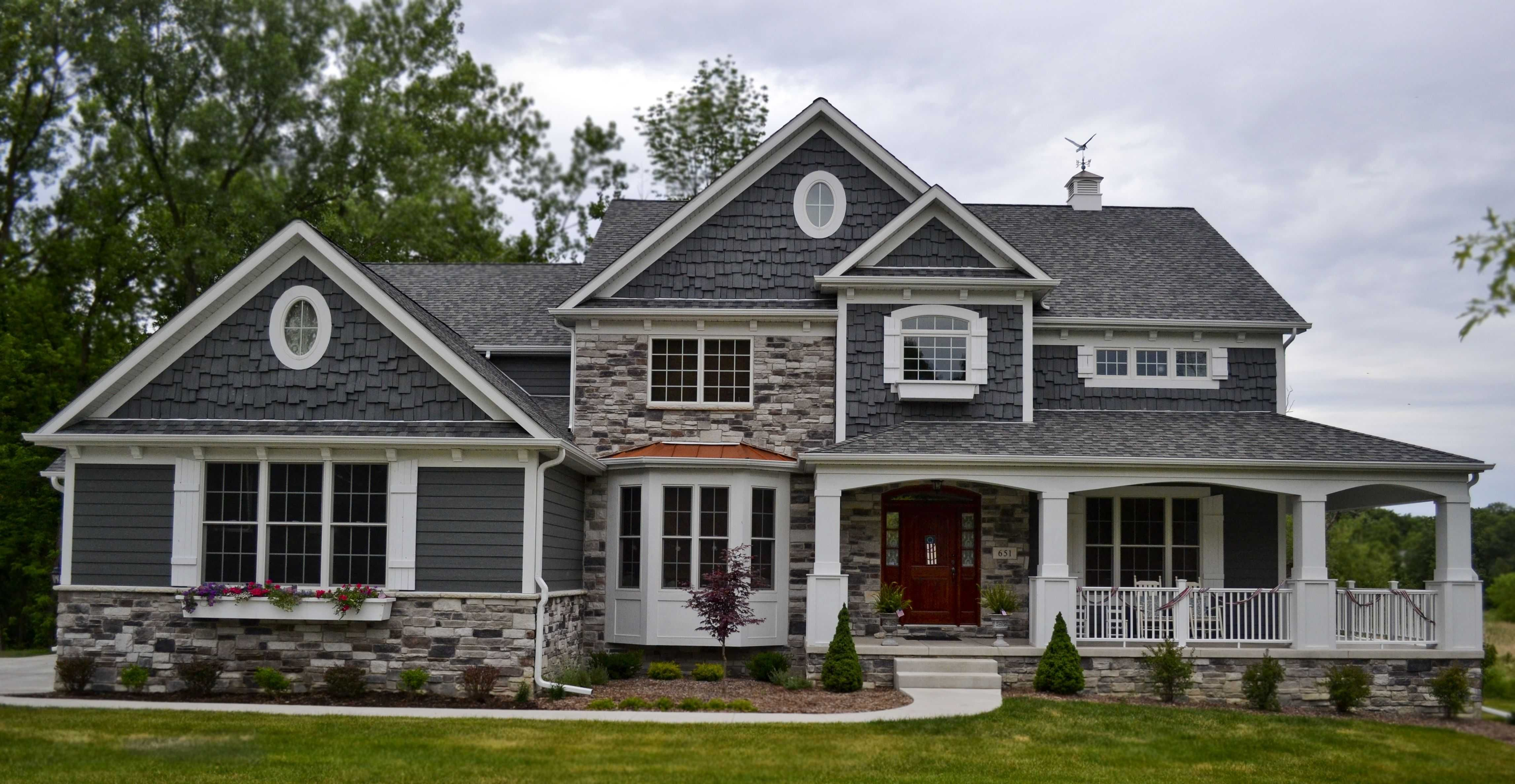 Large Farmhouse With Wrap Around Porch Awesome Large Farmhouse With Wrap Around Porch An Exterior Shot Of Craftsman House House Exterior Dream House Plans
