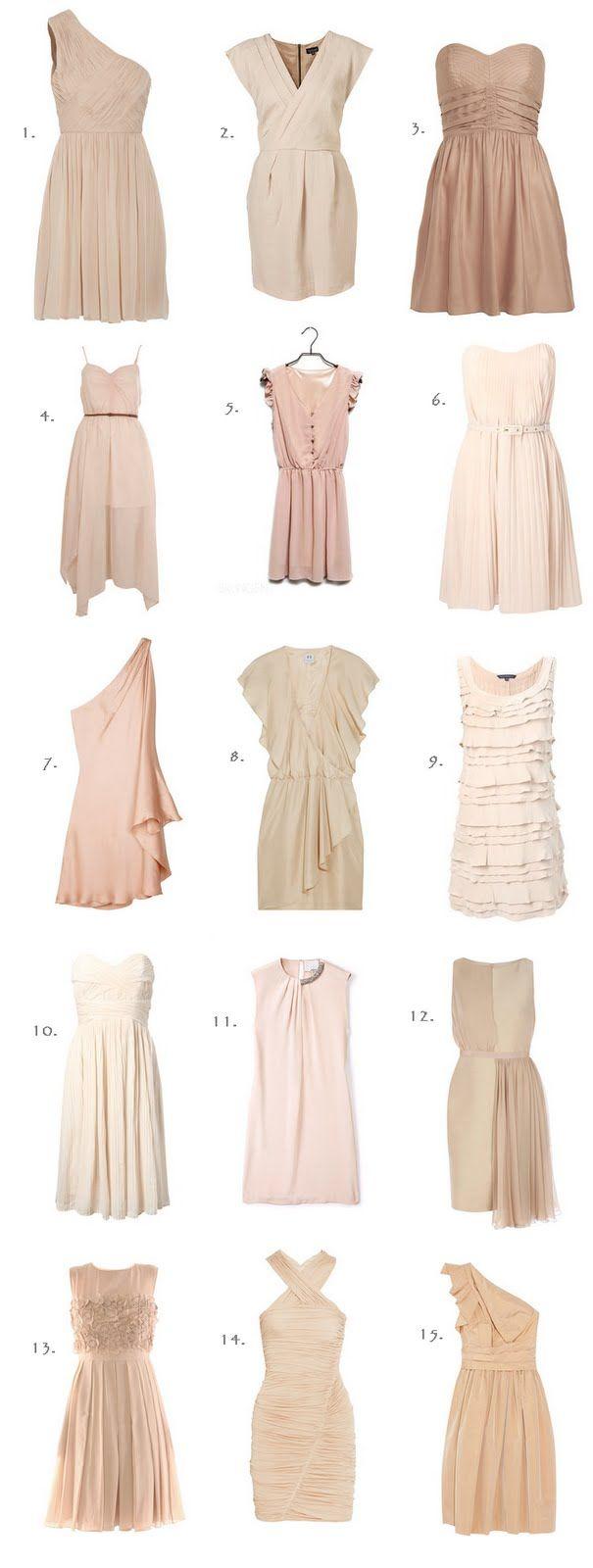Blush Colored Dresses Mismatched Bridesmaid Dresses Vera Wang Bridesmaid Dresses Blush Bridesmaid Dresses