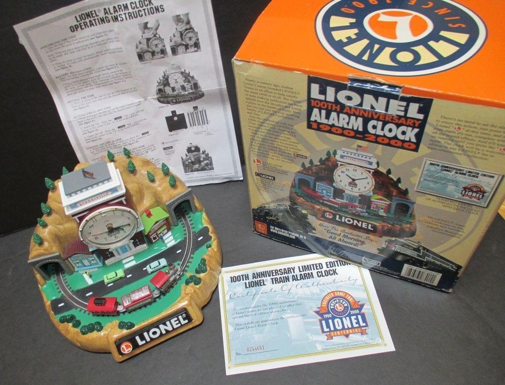 Lionel Ltd Edition Train Alarm Clock