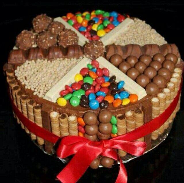 Choco wafel taart