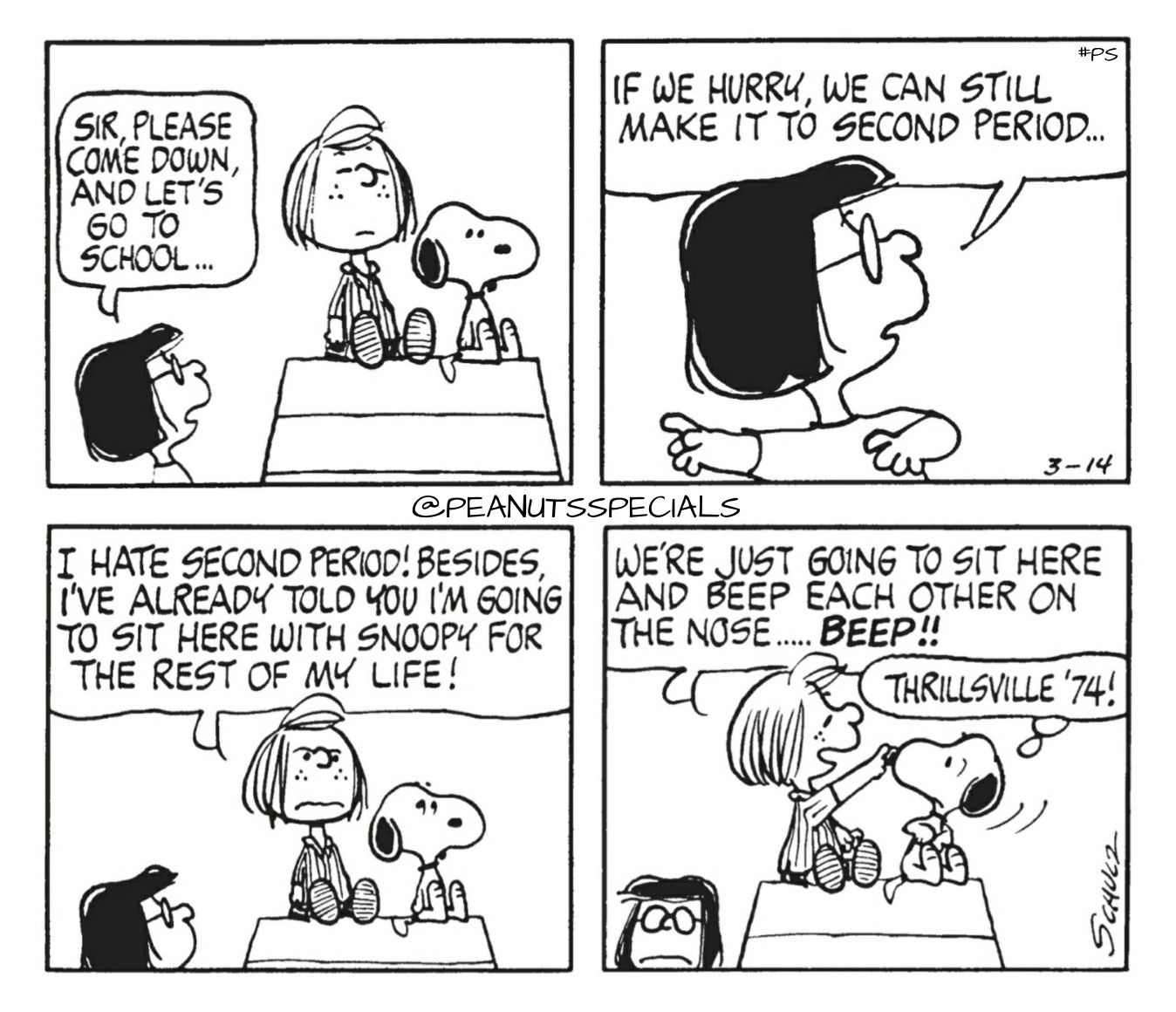 First Appearance: March 14th, 1974 #peanutsspecials #ps