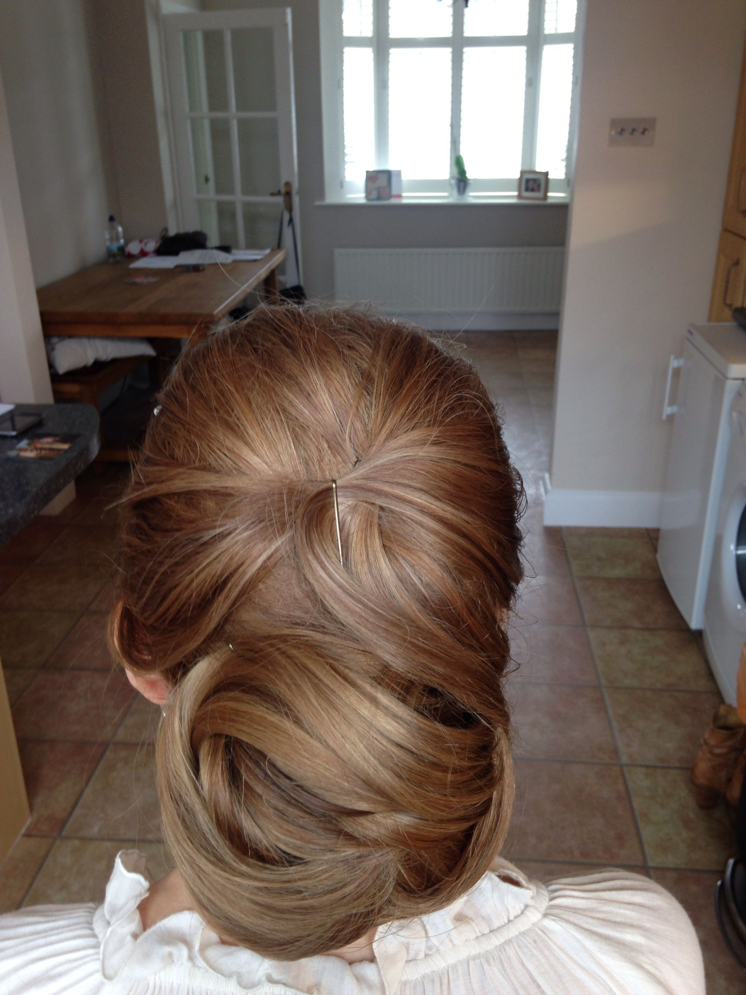 One weddinghair trial completed looking forward to the day